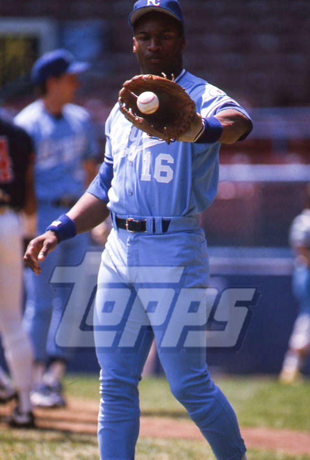 Bo Jackson Kansas City Royals Baseball star, Royals