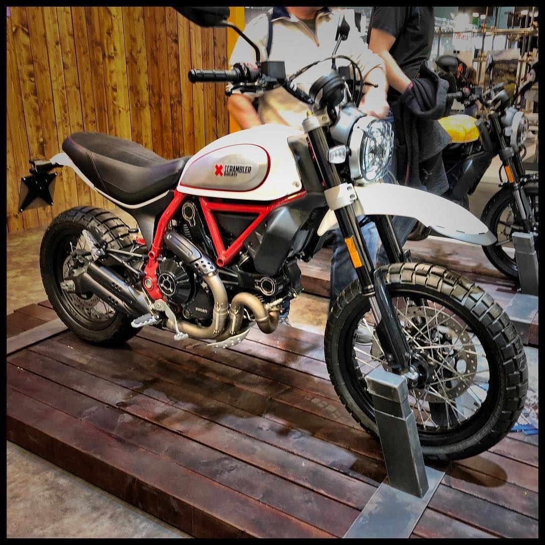 Ducati Scrambler Desert Sled 2019 At Intermot Cologne Ducati