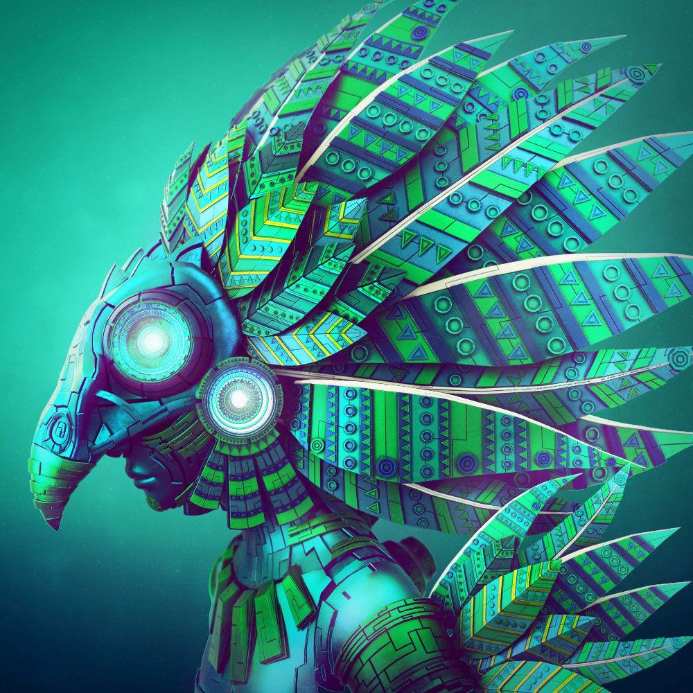 Quetzal | Diseño/Ilustración | Aztec art, Mexican art ...