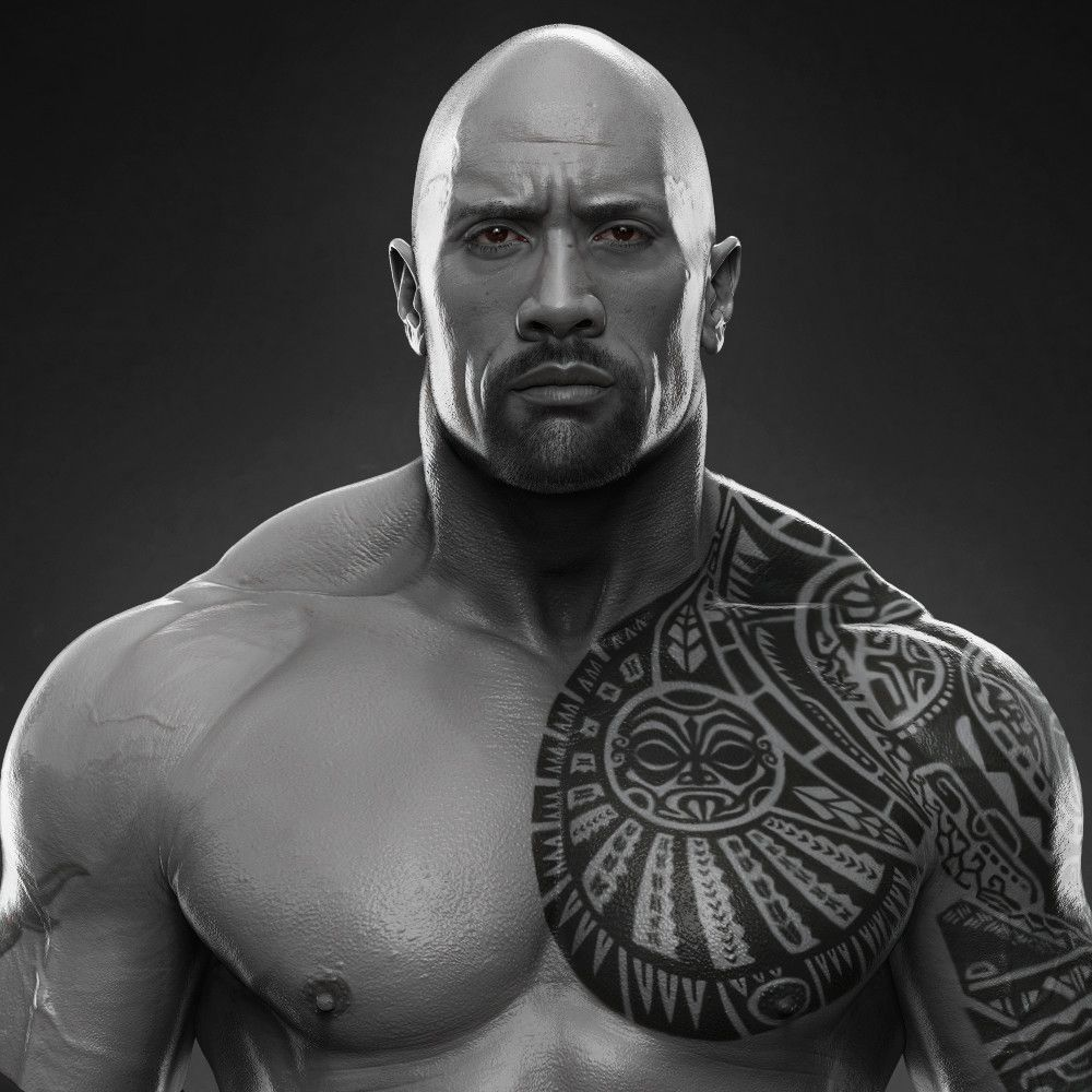 Dwayne The Rock Johnson done for WWE, Hossein Diba on