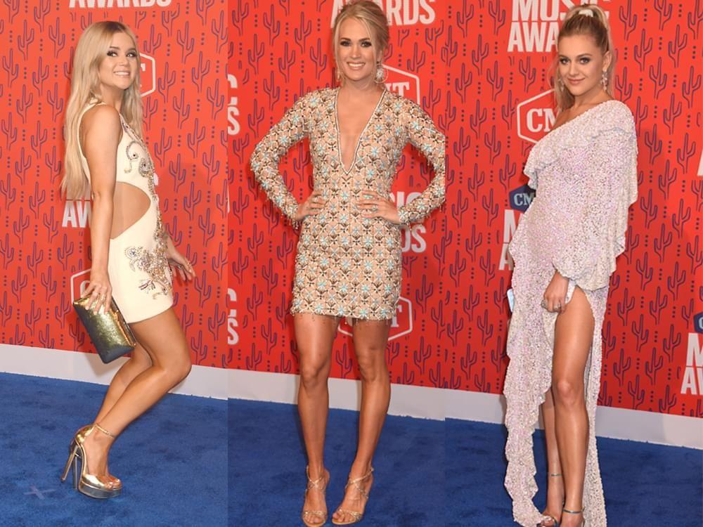 111 Of Our Favorite Photos From The Cmt Awards Red Carpet Including Maren Morris Carrie Underwood Kelsea Ballerini More With Images Caroline Jones Deana Carter