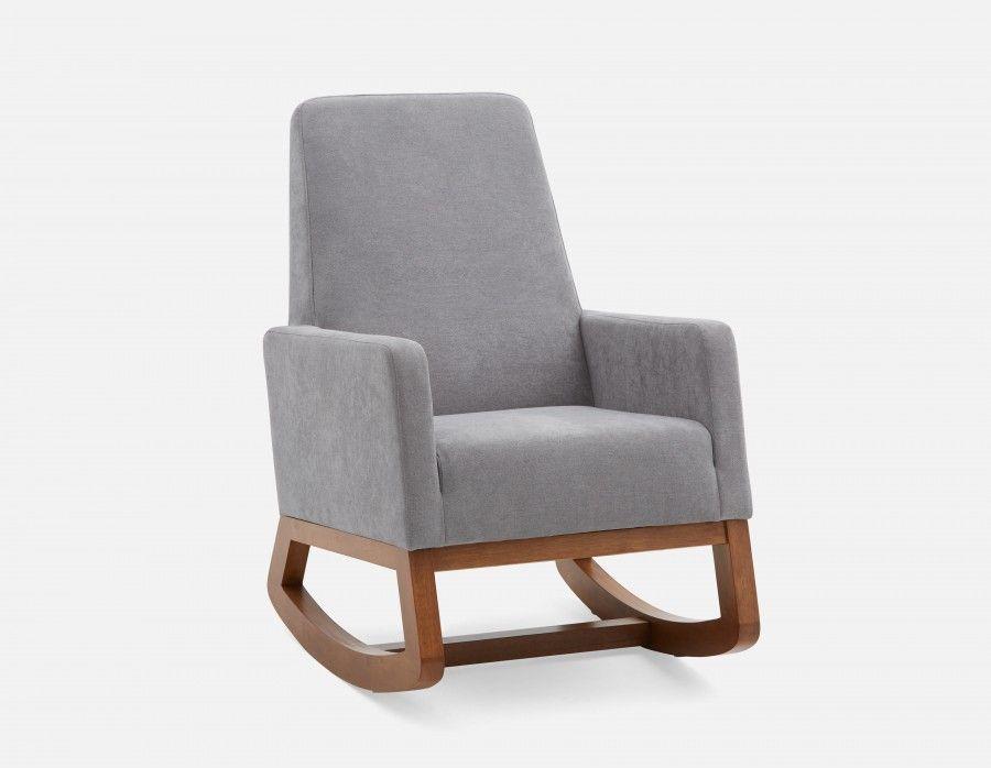 Grey Rocking Chair
