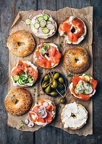 Bagel-Kombinationen! #foodporn #kitchen #easy #lifestyle #cook #chef #easy #mi …
