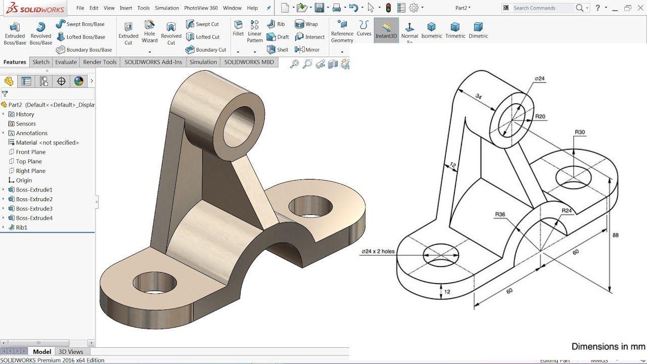 Render Sketch picture SolidWorks