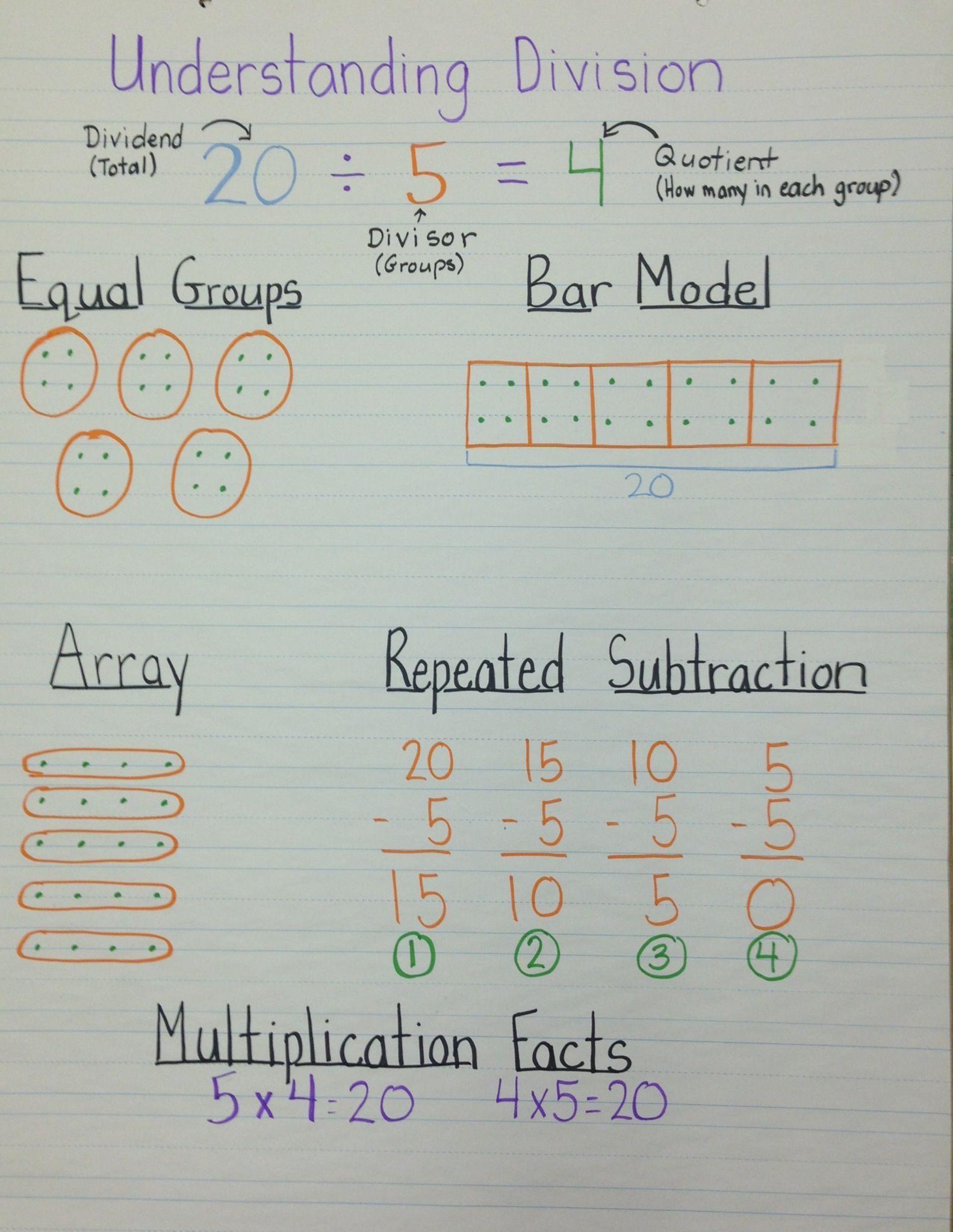 3 Division Grade 5 Math Worksheets In