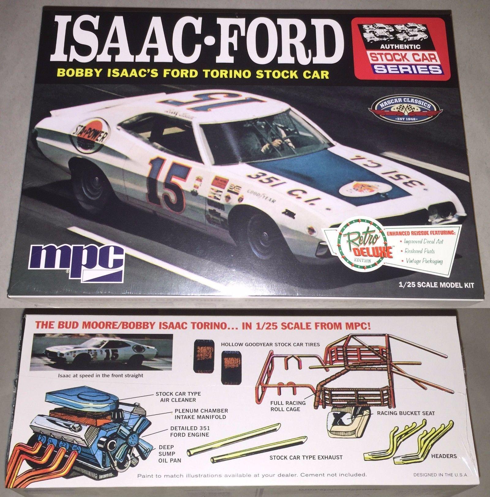 Nascar 145962 Mpc 1972 Ford Torino Stock Car Bobby Isaac 15 1 25