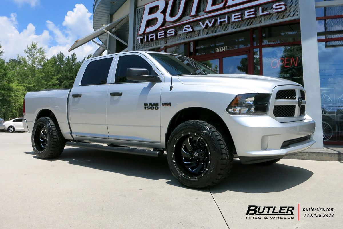 Dodge Ram With 20in Fuel Cleaver Wheels Dodge Ram New Trucks Dodge