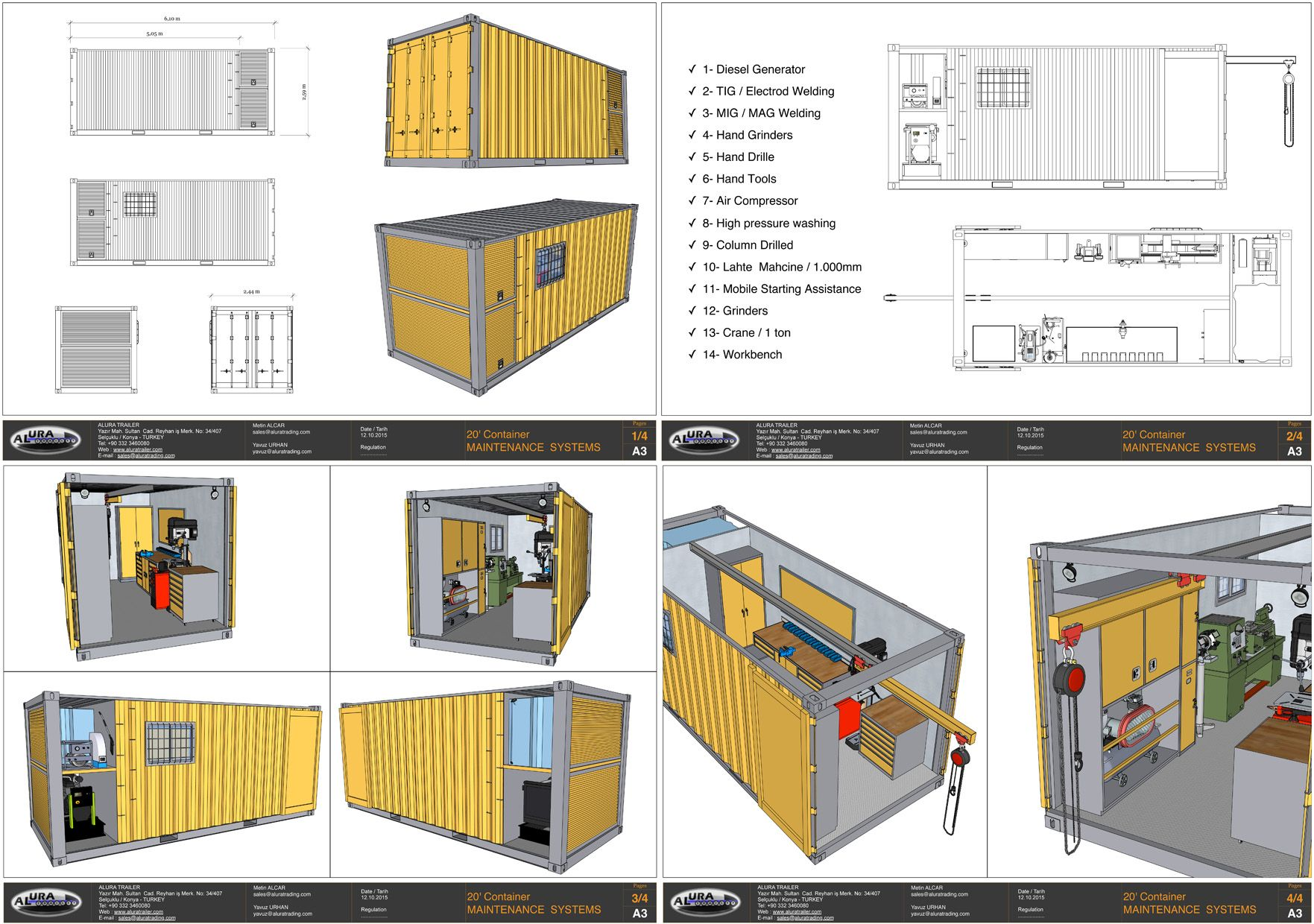 Truck Mobile Workshop Cerca Con Google Tiny House Cabin Mobile Workshop Working Area