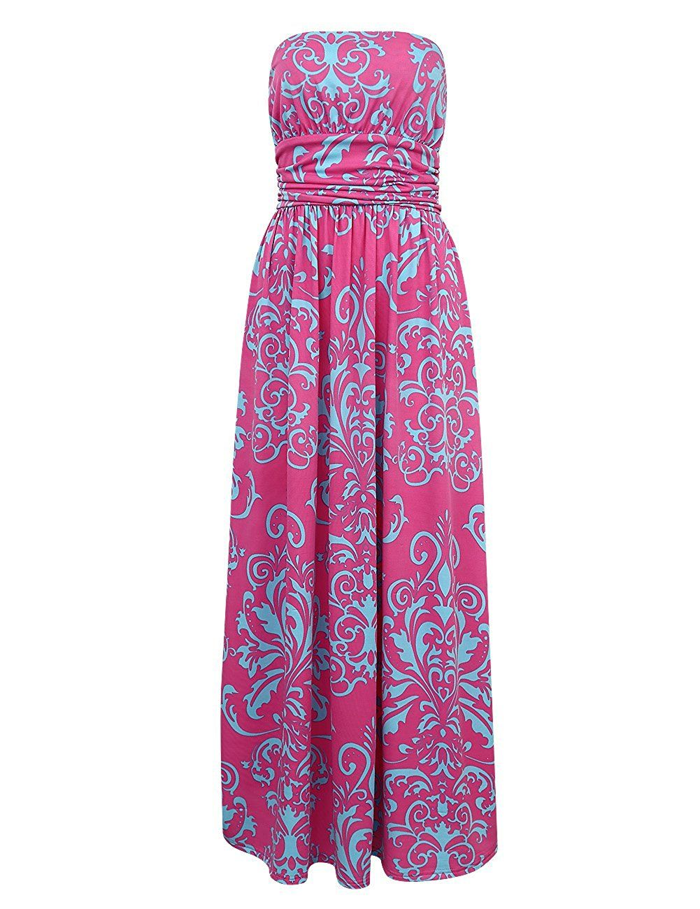 Beautiful long summer dress very comfortable and cute you could