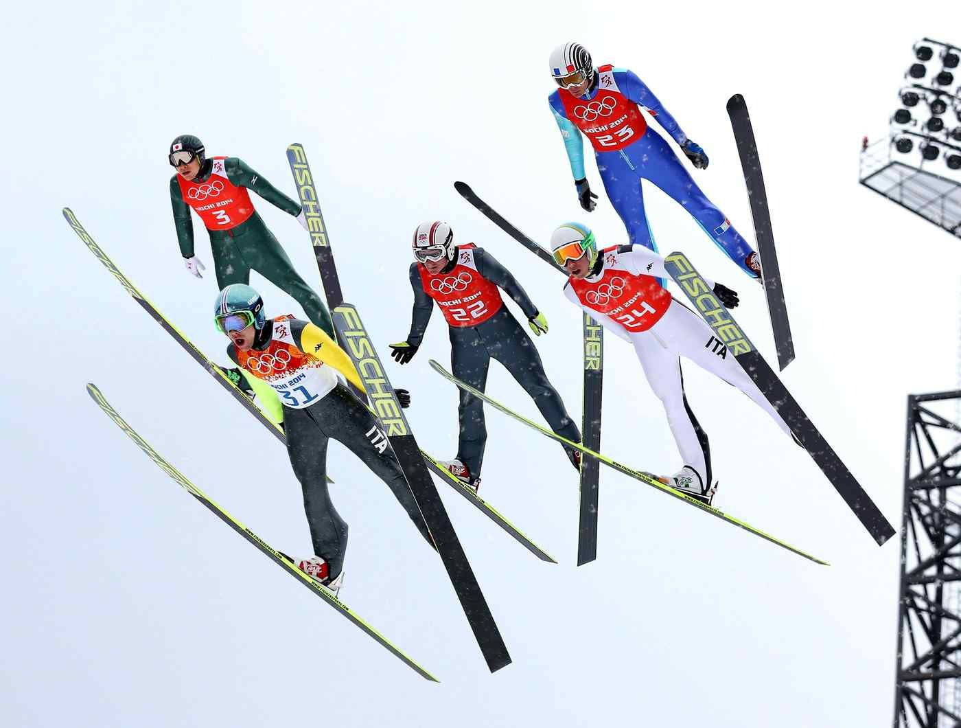Olympic Officials To Have Ski Jumpers Go One At A Time From Now On