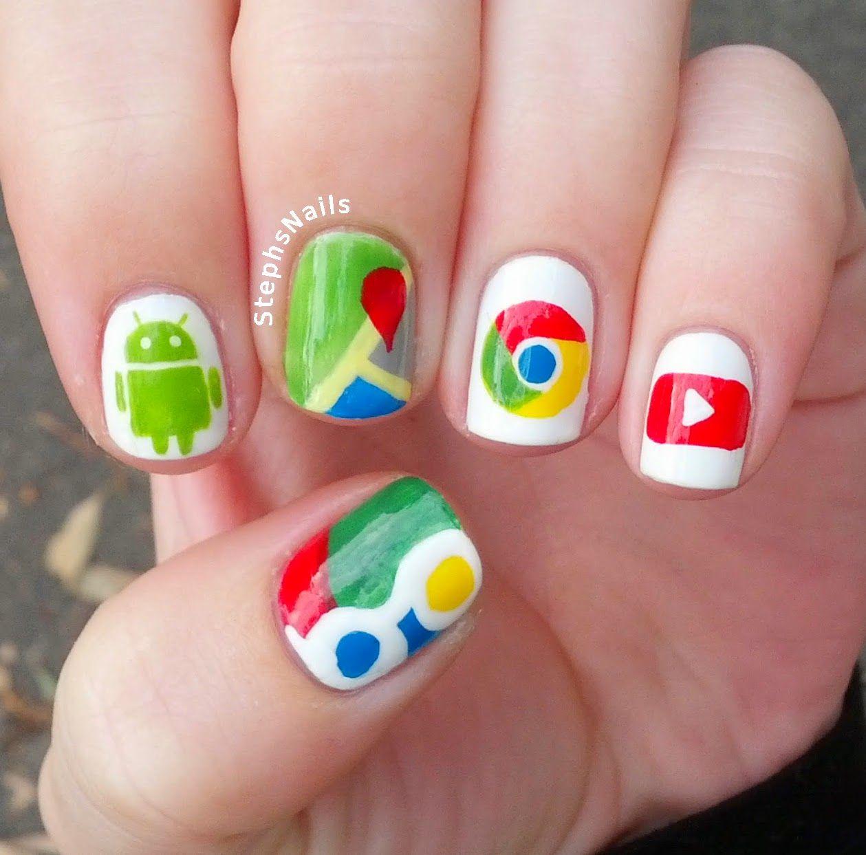 google chrome nail art designs - | Nails | Pinterest | Chrome nail ...