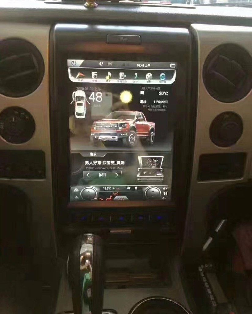 Pin By Pndins On Android Radios For Ford Vehicles Truck Accessories Ford Ford Trucks Custom Trucks
