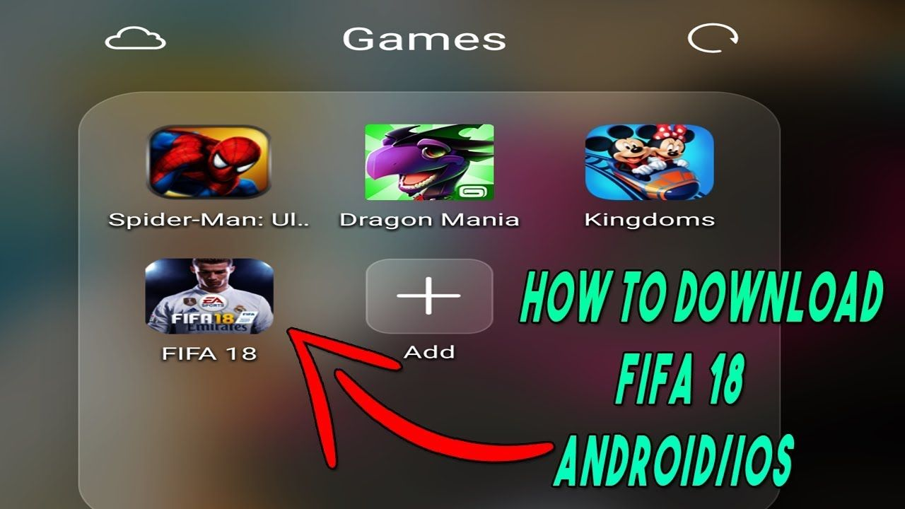 fifa 18 android free