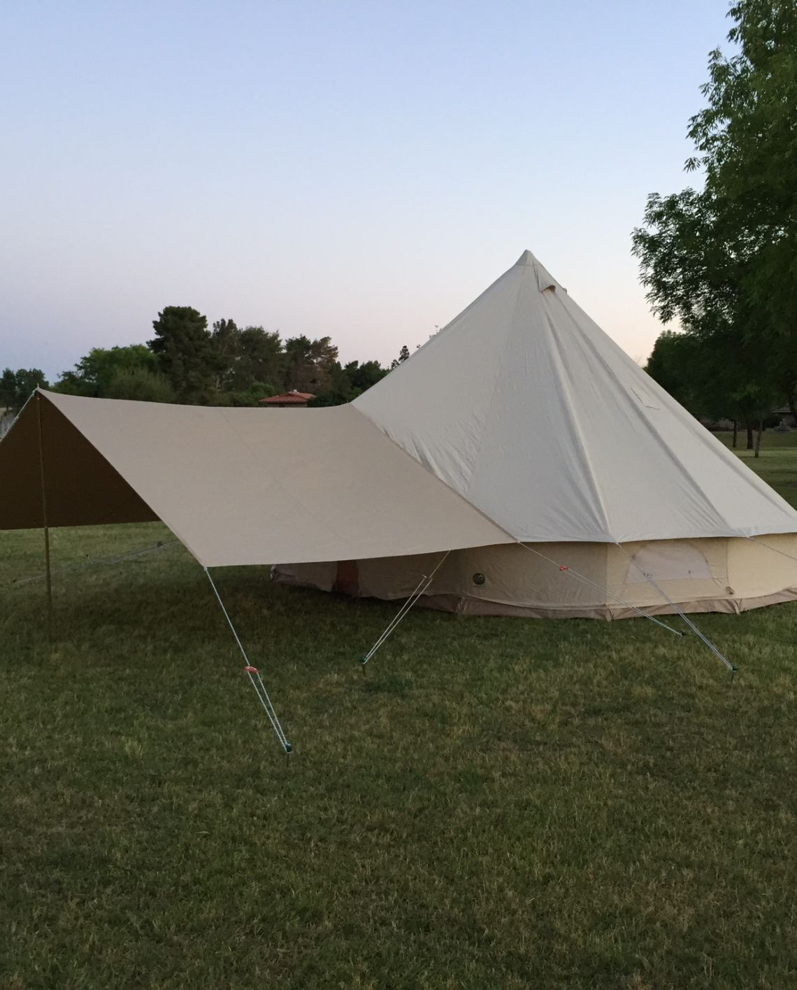 Stout Bell Tent Awning Stout Tent Tent Awning Bell Tent Tent Glamping