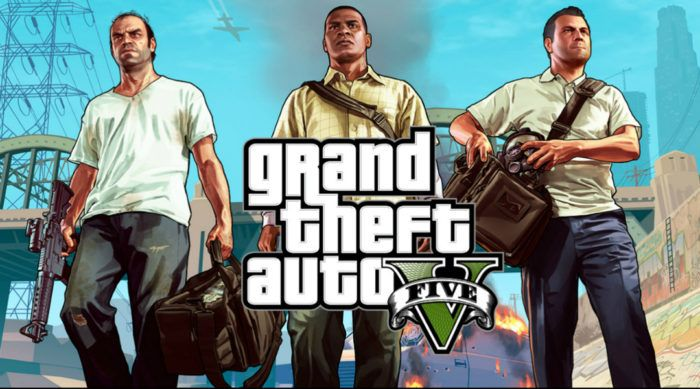 GTA V is #1 on the UK Games Chart for the 10th Time