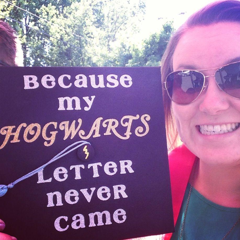 Pin By Kathleen Lebar On Crafty Hogwarts Graduation Harry Potter Graduation Graduation Cap