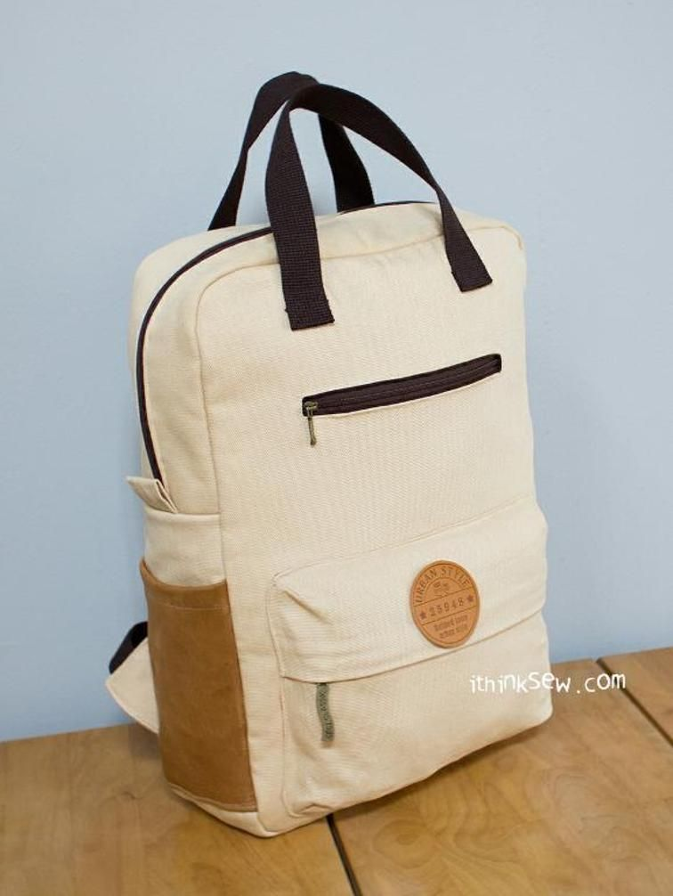 775 Vicky Adult Backpack PDF Pattern | bolsos | Pinterest | Costura ...