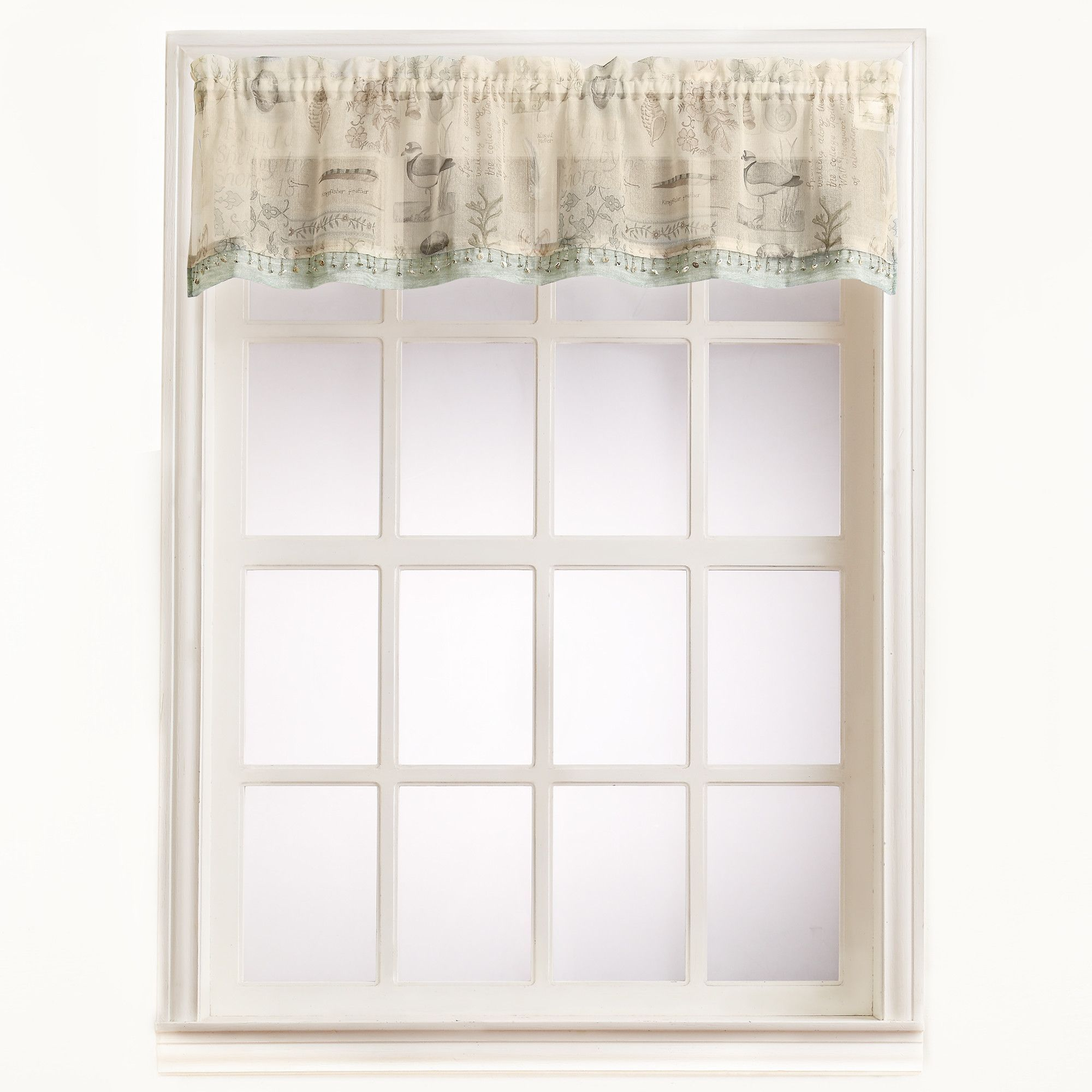 Curtain valances for windows and rods - Rod Pocket Curtains