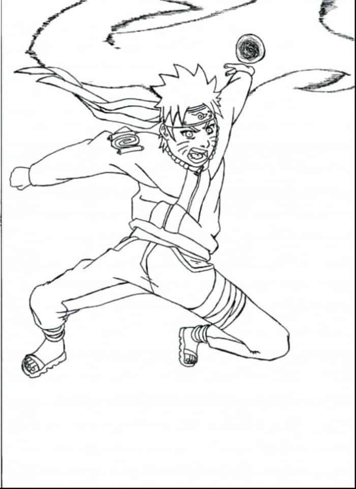 Naruto Shippuden Rasengan Coloring Pages Chibi Coloring Pages Cartoon Coloring Pages Coloring Pages