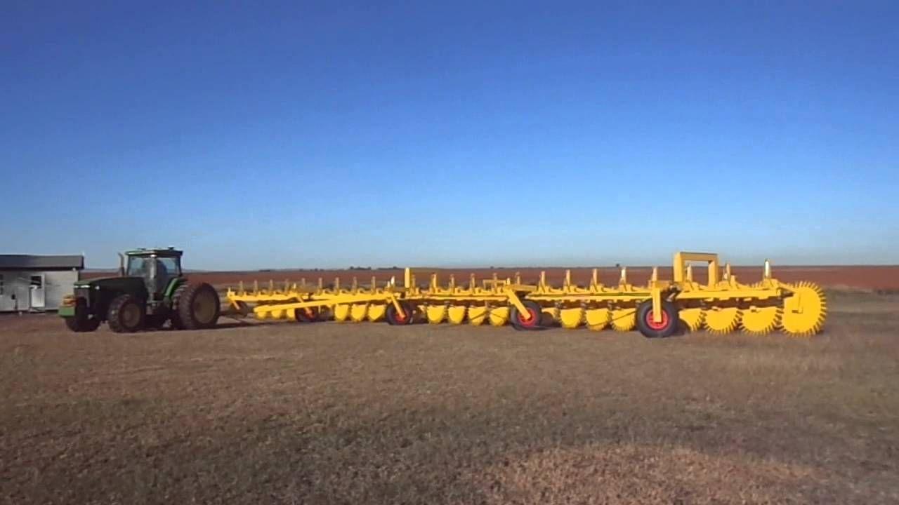 24 Wheel Stickrake (Root or Rock Rake) from ground - Multi