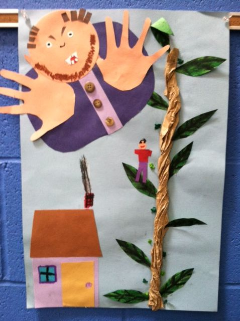 Jack And The Beanstalk Art And Craft Activities
