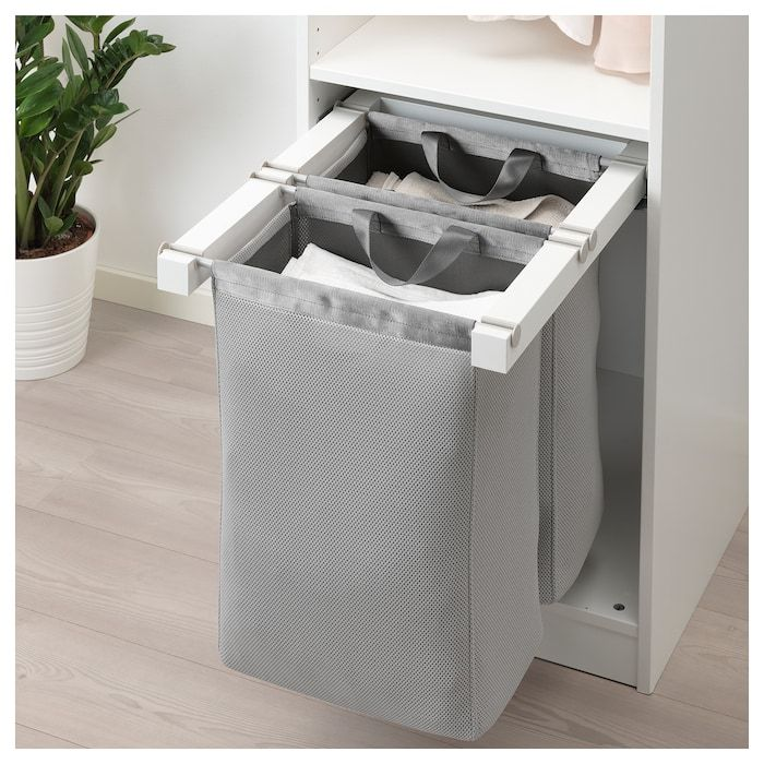 Photo of KOMPLEMENT Uttrekkbar oppbevaringspose – hvit – IKEA