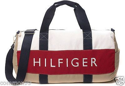 ORIGINAL   NEW TOMMY HILFIGER LARGE DUFFLE GYM BAG