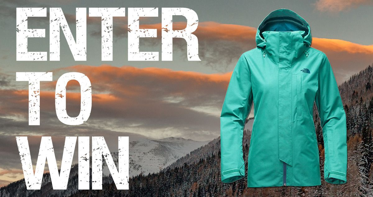 b08b8305587 ENTER TO WIN A North Face Alligare 3in1 Jacket. http   woobox.