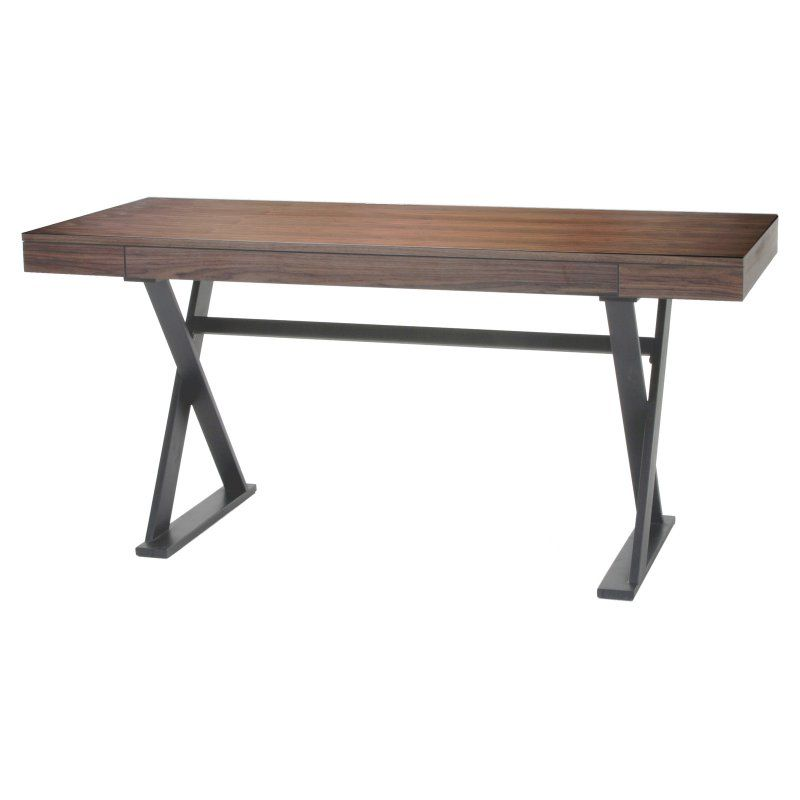 Moes Home Collection Reale Desk Walnut