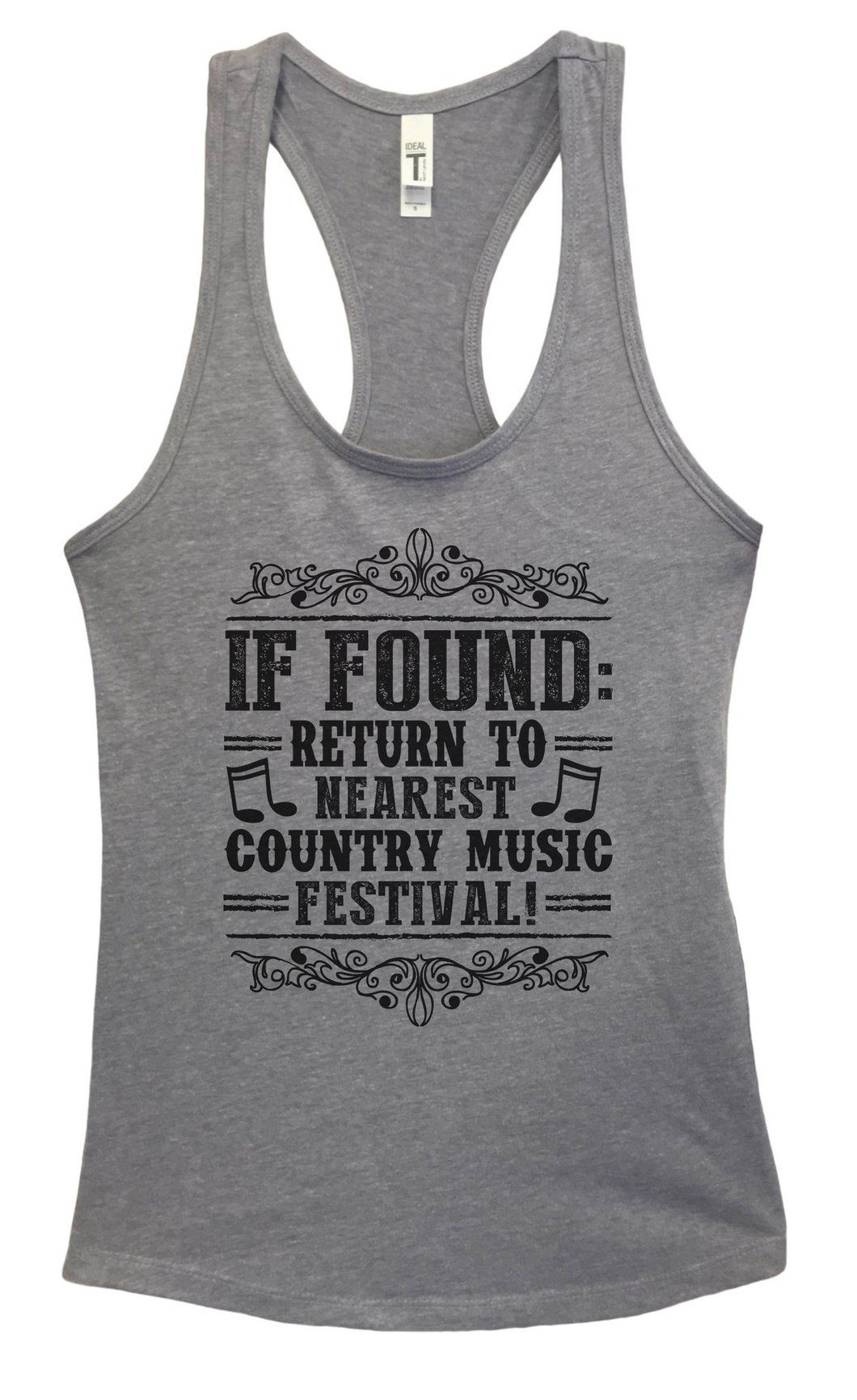 Womens If Found Return To Nearest Country Music Festival