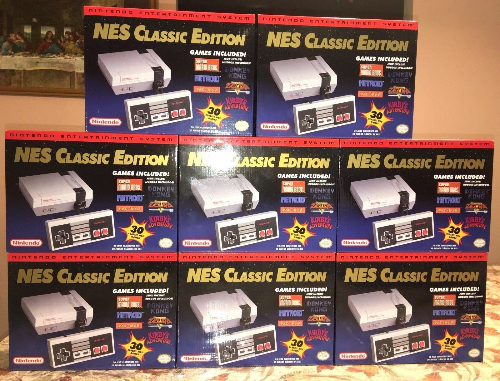 Brand New Nintendo Nes Classic Edition Mini 30 Games Our Products