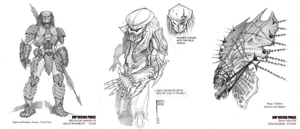 ADI Alien Vs. Predator concept art.