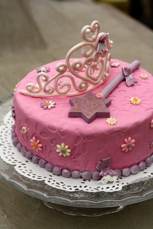 Decoration Gateau Fille