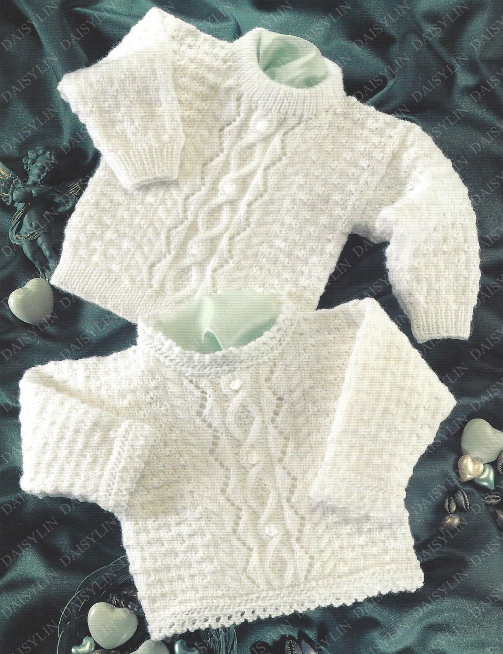 Instant PDF Digital Download premature baby doll 4 ply sweaters 12 ...