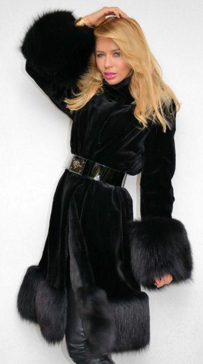 Fur coat онлайн порно