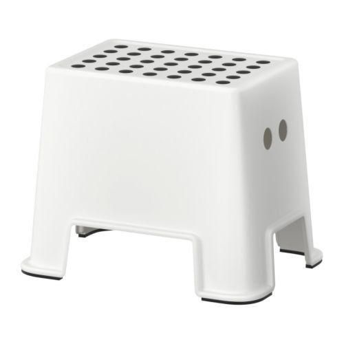 Ikea Bolmen 801.595.19 Slip Resistant Step Stool, Height 12 1/4 Inches