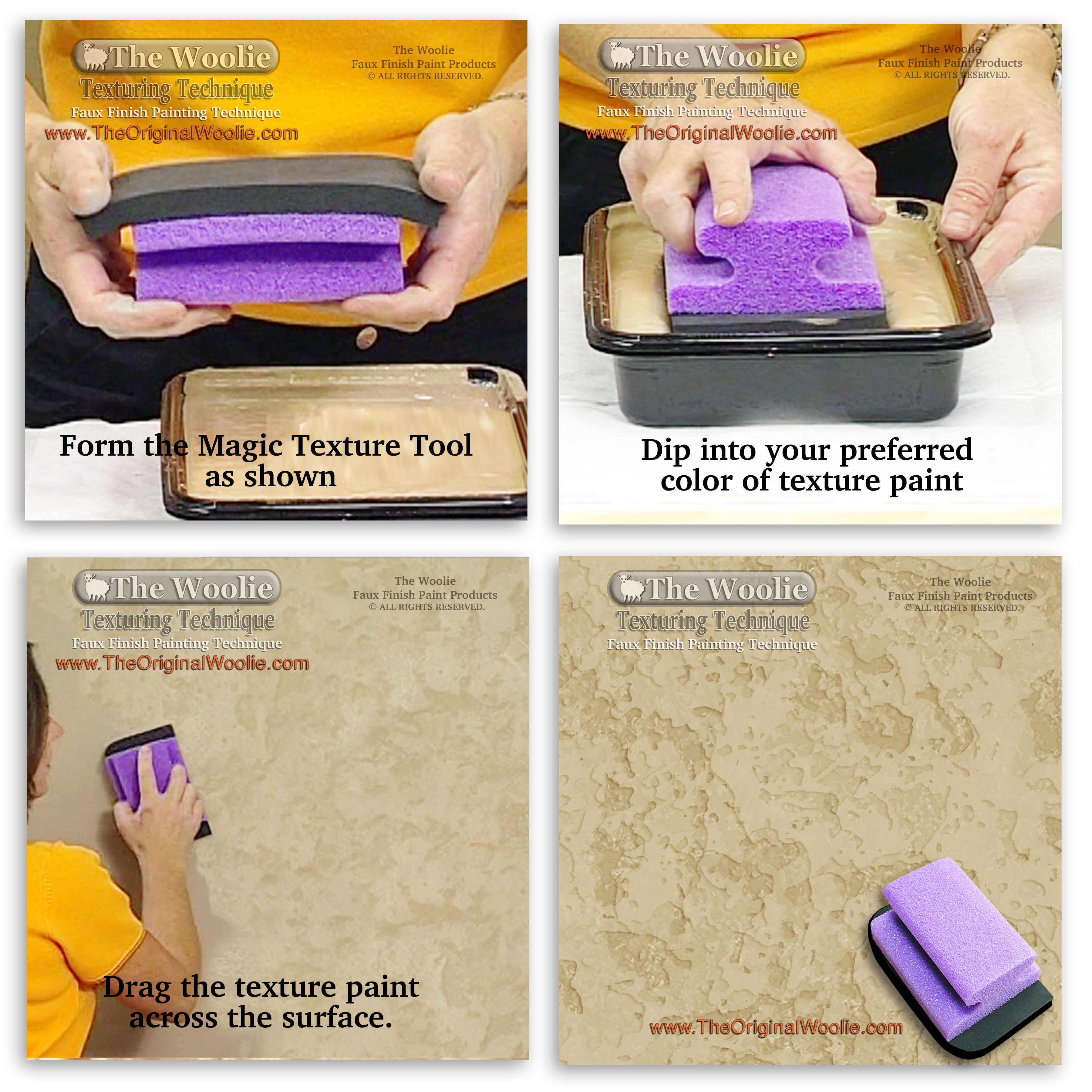 Painting Edging Tool Rag Rolling Color Combinations Faux Finish Rollers Paint Edger Tool 2 Pack P Wall Painting Techniques Wall Paint Patterns Wall Painting
