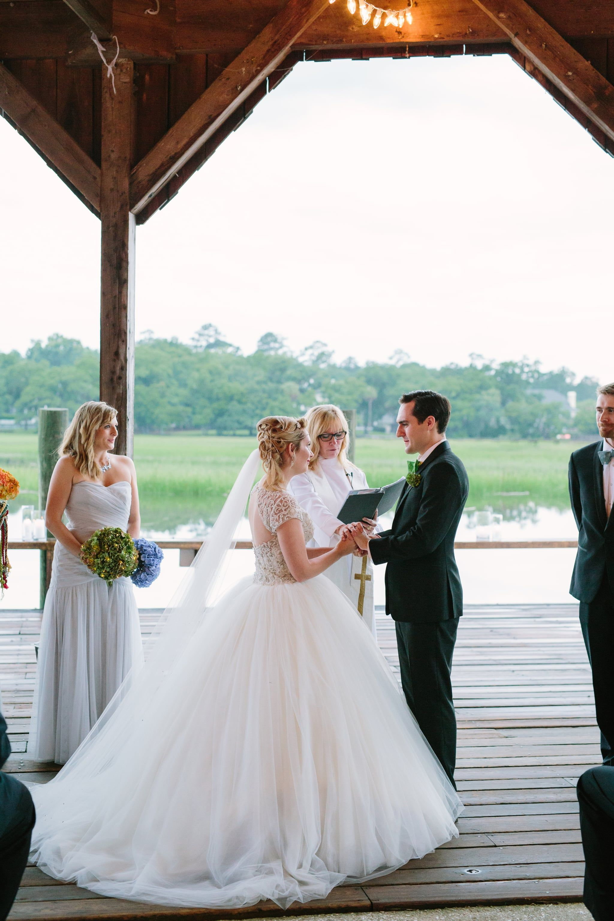 this couple got their happily ever after with a fairy-tale