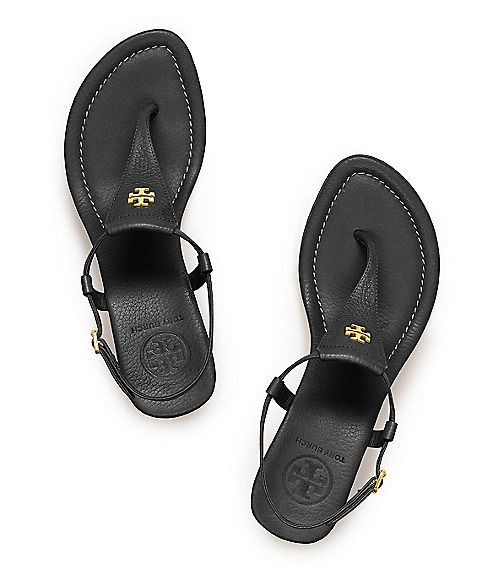 Tory burch - Britton Wedge Thong Sandal