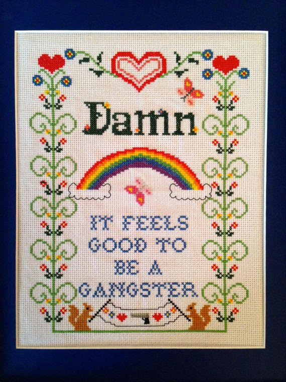 Image Result For Gangster Cross Stitch Cross Stitch Pinterest Cool Funny Cross Stitch Patterns Free