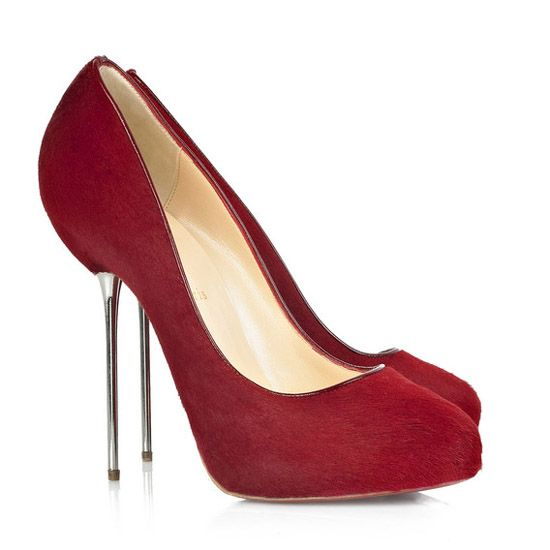 Big Lips 120mm Calf Hair Christian Louboutin Pumps