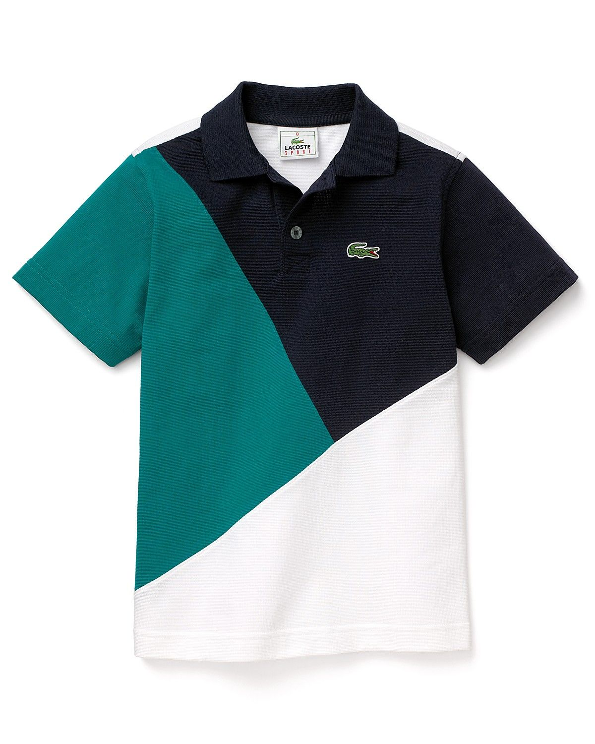 4313ad163 Lacoste Boys' Diagonal Color Block Polo - Sizes 4-16 | Bloomingdale's Lacoste  Polo