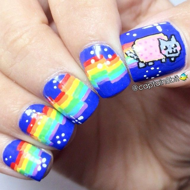 Nerdy Nail Designs: 30 Awesome Manis for Geek Goddesses | health and ...