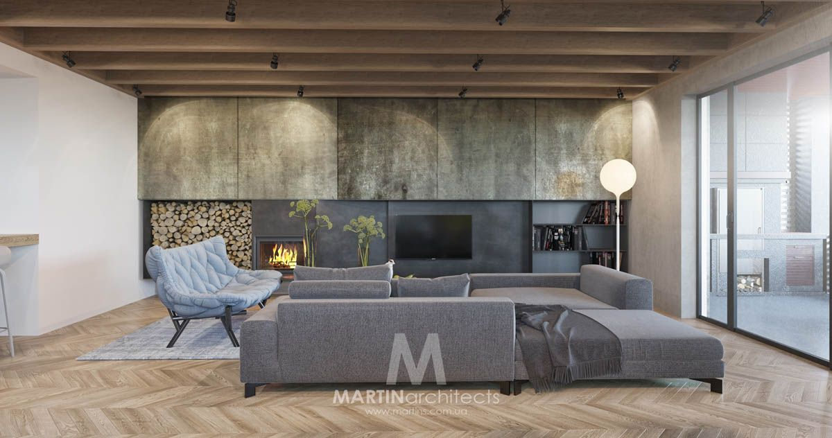 Lovely Cool Apartment With Contemporary Calming Color Scheme