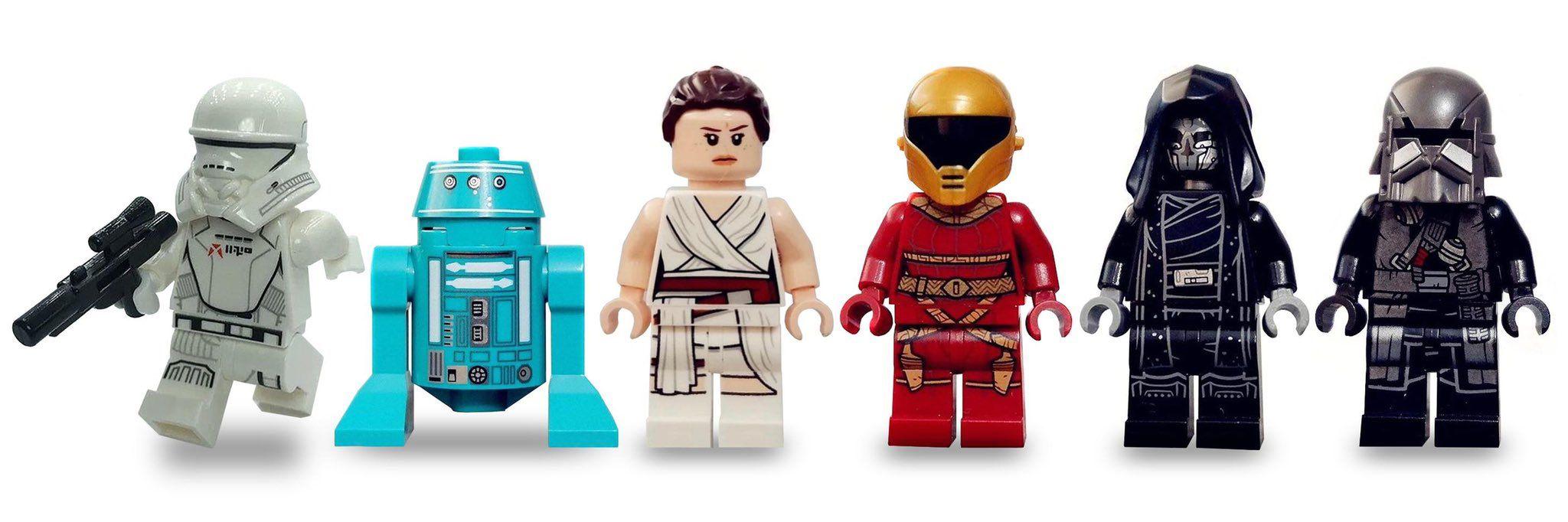 The Rise Of Skywalker Lego Star Wars Episodes Lego Star Wars