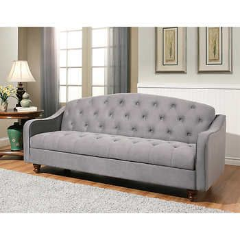 Sectional Sofa Vera Fabric Sleeper Sofa with Storage