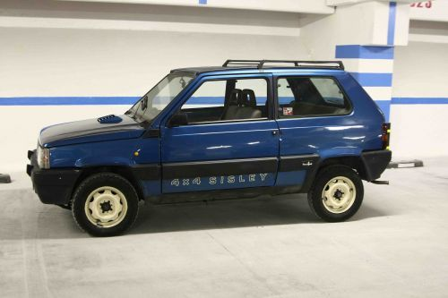 4x4 sisley love fiat panda pinterest 4x4 fiat panda for Panda 4x4 sisley off road