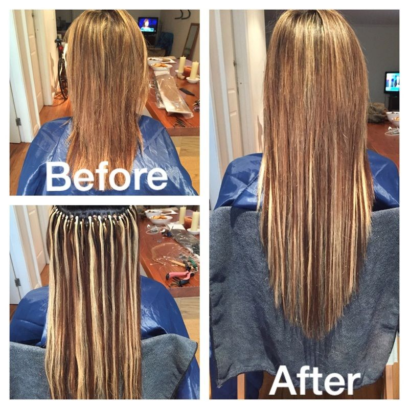Glam Hair Extensions Offer A Mobile Hair Extensions Service To
