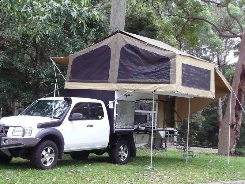 The Amazing Wedgetail Truck C&er From Australia - (Introduction and discussion of DIY · Slide On C&ersTent C&ersPop Up ... & The Amazing Wedgetail Truck Camper From Australia - (Introduction ...