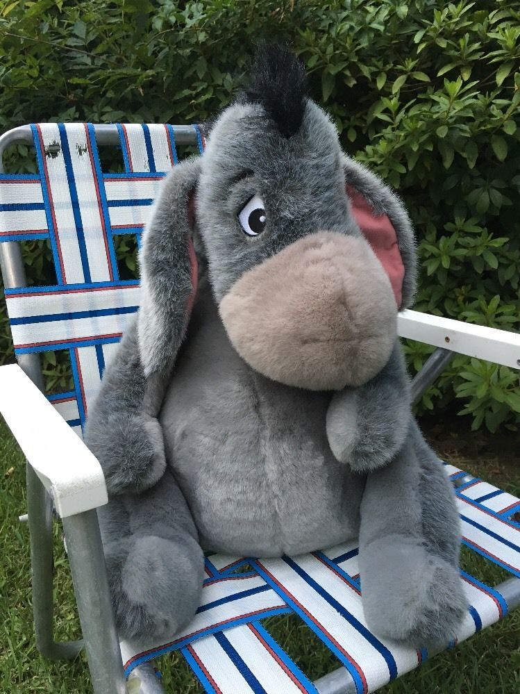 Artist Manufactured Able Genuine Disney Exclusive Large Plush Eyeore Soft Toy